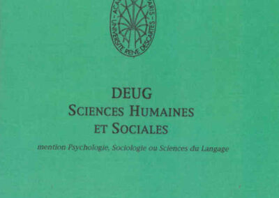 Deug SHS_1996-1997