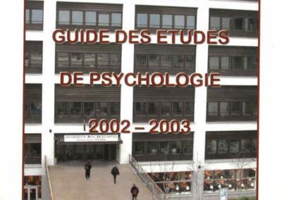 Guides des Etudes 2002-2003