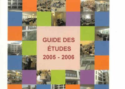 Guides des Etudes 2005-2006
