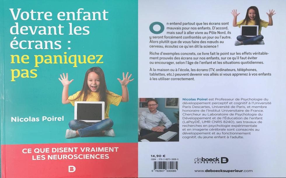 Parution d'un ouvrage en Neurosciences