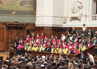 2012 Cérémonie des grades en Sorbonne