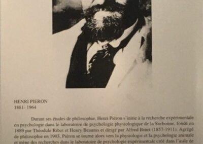 Henri Piéron 1881-1964