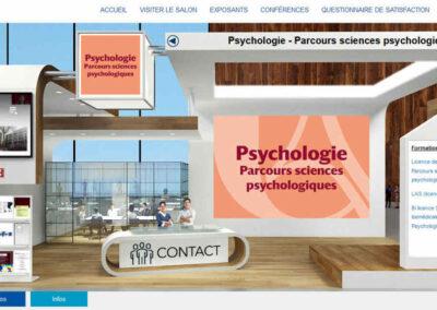 [JPO 2021] Stand Licence de psychologie - parcours Sciences Psychologiques