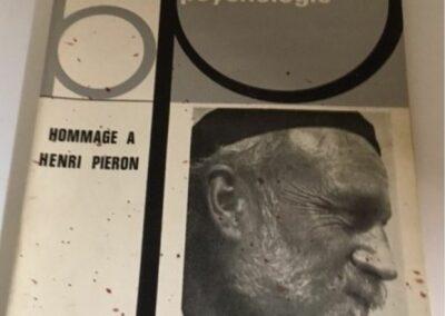 Piéron Bulletin Psychologie-Hommage 1964