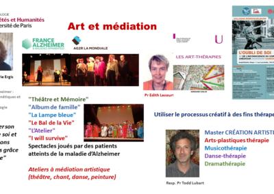 Art et Médiation thérapeutique
