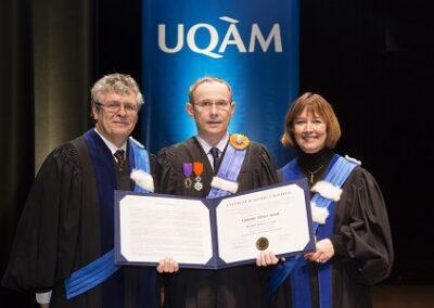 Doctorat Honoris Causa-UQAM-OHoudé_ Montreal, 2015