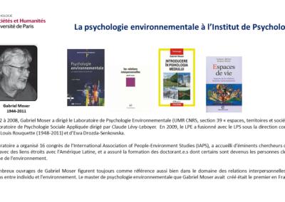Gabriel Moser- Psychologie environnementale