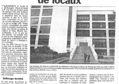 Media Le Parisien 1996