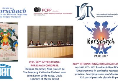 PCPP Congres Societe internationale Rorschach 1990_2017