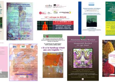PCPP affiches colloques et congrès