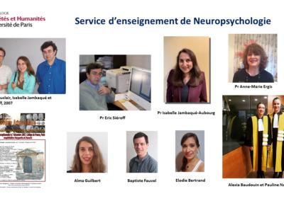 Service d'enseignement de neuropsychologie