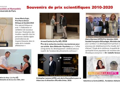 Souvenirs de prix scientifiques_IP 2010_2020