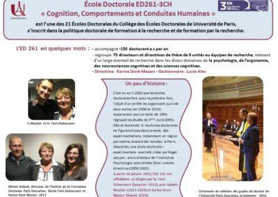 Ecole Doctorale ED261 2021