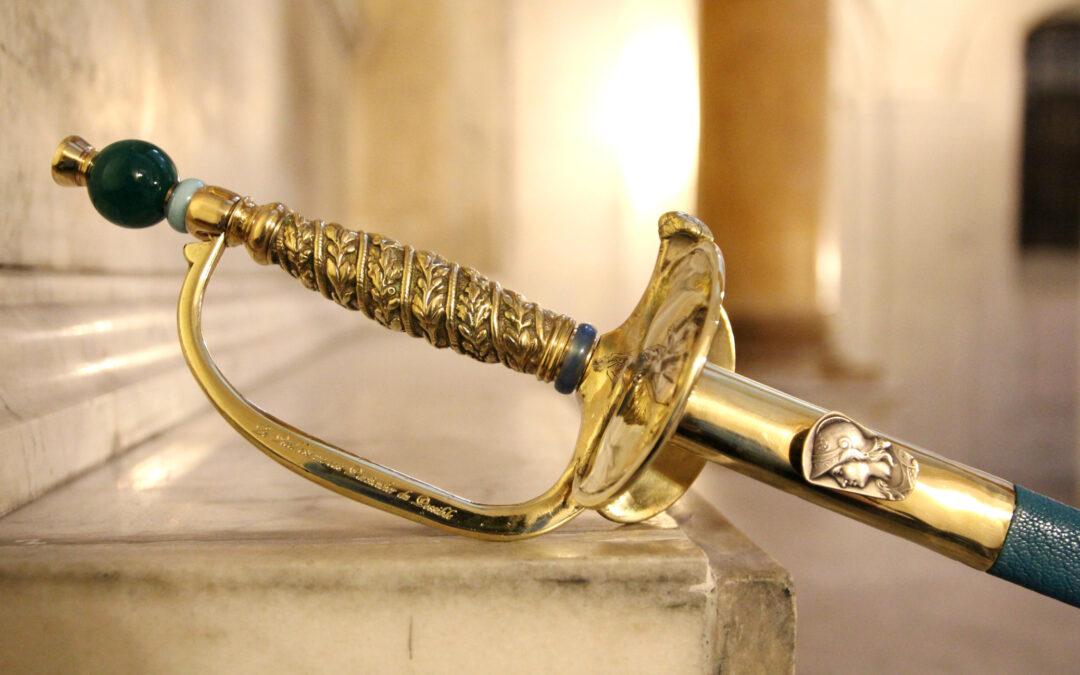 Olivier Houdé reçoit son épée d'Académicien